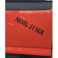 Diesel Junkie Vinyl Decal / Sticker  (MADE IN THE USA)