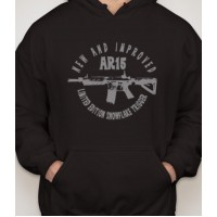 New and Improved AR15 Hooded Sweatshirt