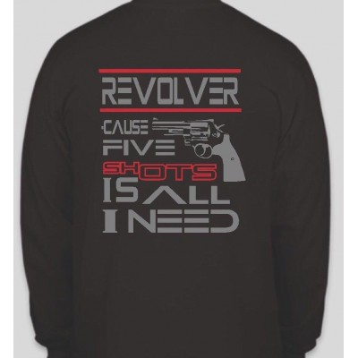Five Shots Long Sleeve T-Shirt