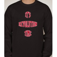 'It's Revolution Time' Long Sleeve T-Shirt