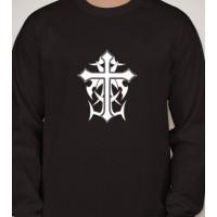 Tribal Cross Long Sleeved T-Shirt