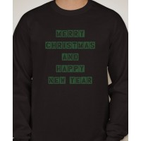 Merry Christmas Long Sleeved T-Shirt
