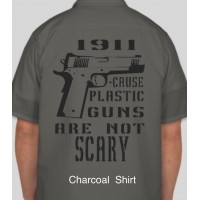 Plastic Gun 1911 Mechanic Shirt