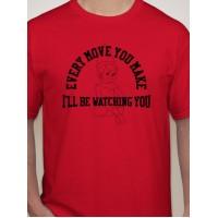 I'll Be Watching... Xmas T-Shirt