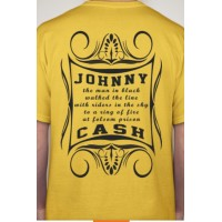 Johnny Cash, The Man in Black, TShirt