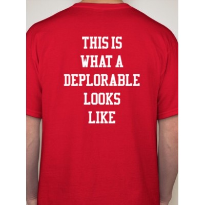 Deplorable (TRUMP 2016) T-Shirt