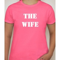 The Wife Wedding (front/back design) T-Shirt